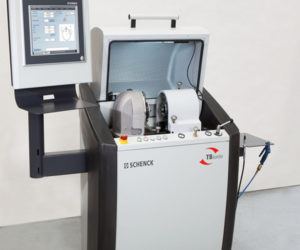 SCHENCK TBsonio dynamic balancing machine for cartridge